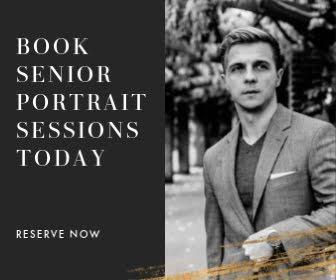 Adam's Senior Portrait - Large Rectangle Ad Template