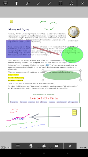 PDF Plugin - Moon+ Reader 170101 screenshots 2
