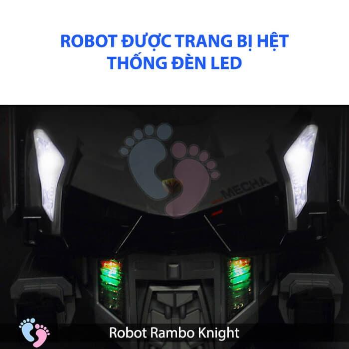 Siêu phẩm Robot Rambo Knight Cho bé 14