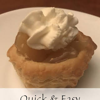 Quick & Easy Apple Pie Puff Pastry.