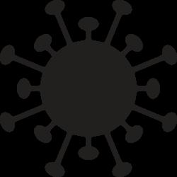 Corona Virus Symbol