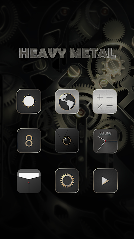 android Heavy Metal-Solo Theme Screenshot 2