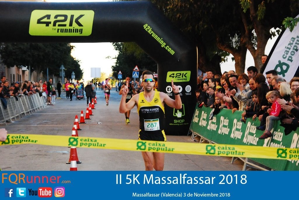 Josep Martinez Molina del C.A. Orero Paterna Runners