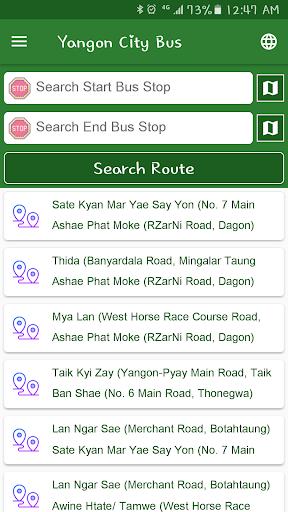 Yangon City Bus (YBS) 1.2.5 Screenshots 8