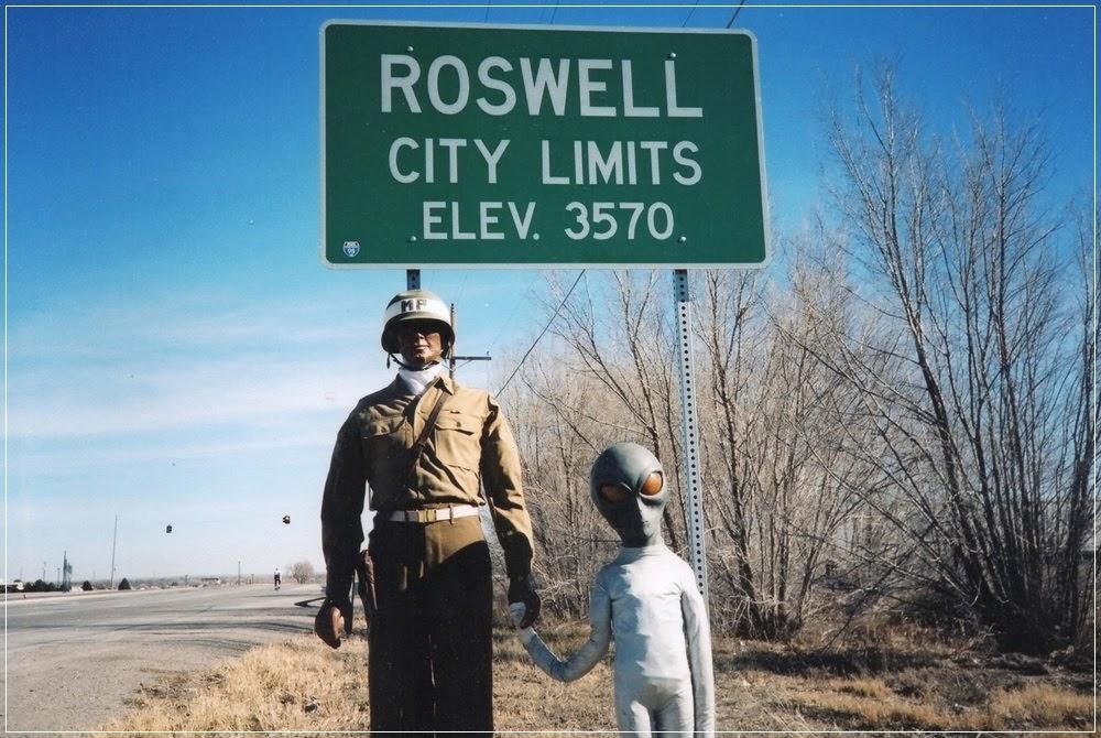 Roswell, o que caiu aqui?