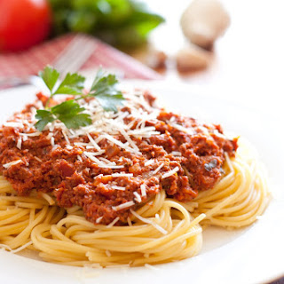 Spaghetti with Meat Sauce – Authentic Italian Style.