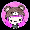 Kawaii Girl Go Sms icon