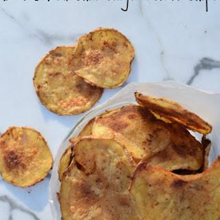 DIY Baked Chili Ginger Potato Chips