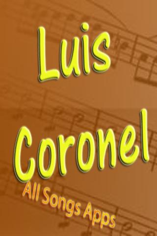 All Songs of Luis Coronel