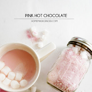 How to Make Pink Hot Chocolate