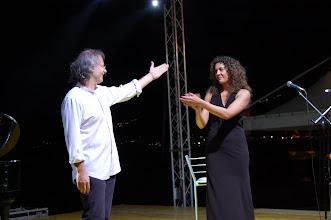 Photo: Acciaroli, Pollica (SA) - Festival 'U Viecchiu 22-23 luglio 2011, Alessandro Nidi e Mascia Foschi