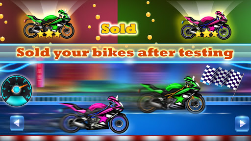 Sports Motorcycle Factory: Motorbike Builder Games  screenshots 5