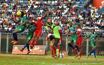 Photo: The Leone Stars repeatedly apply pressure in the second half [Leone Stars v Seychelles, Freetown, 19 July 2014 (Pic: Darren McKinstry)]