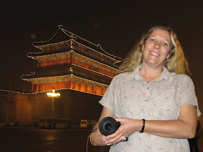 Photo: Day 189 -  Dee  in Tiananmen Square