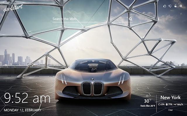 Concept Cars HD Wallpapers New Tab Theme