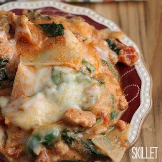 Shortcut Skillet Sausage Lasagna.