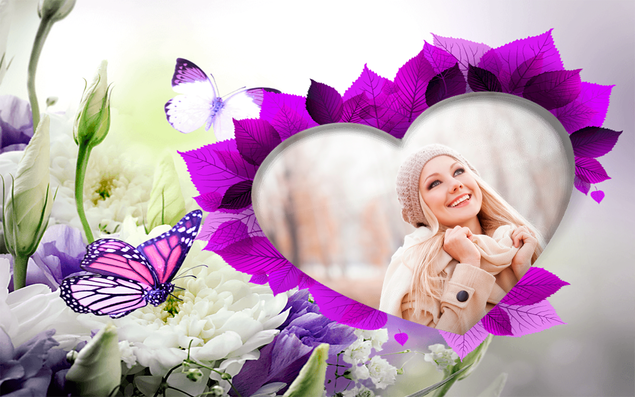 Butterfly Photo Frames Apl Android Di Google Play