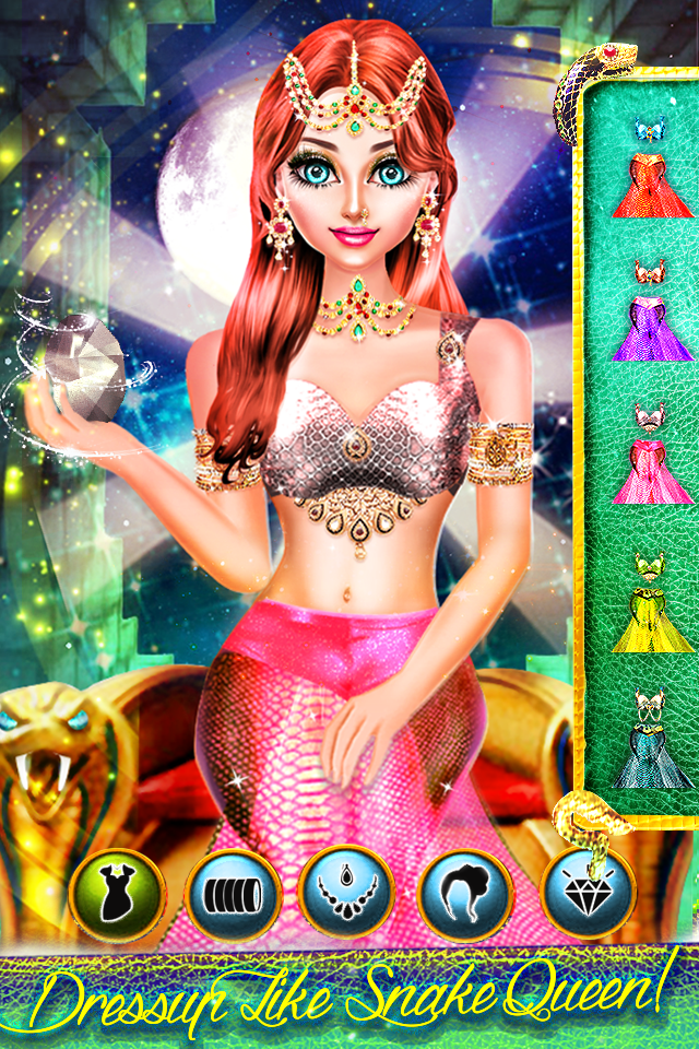 Snake Girl Salon - Naagin Game Android 7