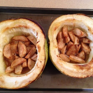 Carnival Squash with Apples and Thyme Recipe