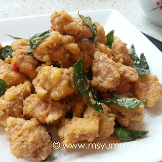 Chicken With Salted Egg Recipes.