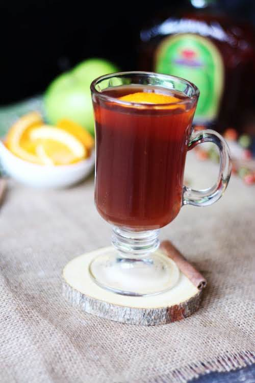 """Apple Crown Hot Toddy """"Toddy's are super easy to make. I chose..."""