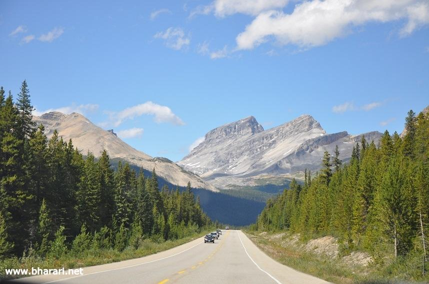This is what our road trip was all about - the Rockies!