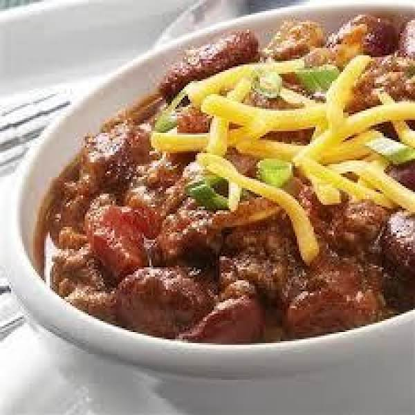 Tex-mex Three Bean Crockpot Chili Recipe