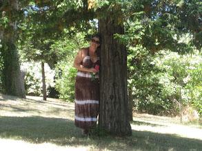 Photo: My good friend Karen, that tree-huggin' hippie! ;)