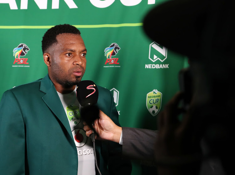 Man of the match Itumeleng Khune during the 2018 Nedbank Cup Last 32 match between Kaizer Chiefs and Golden Arrows at FNB Stadium, Johannesburg South Africa on 11 February 2018.