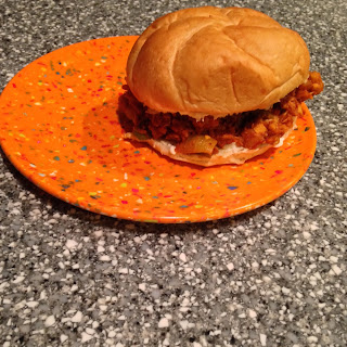 Jackfruit Sloppy Joe Recipe, slop slop sloppy joes!