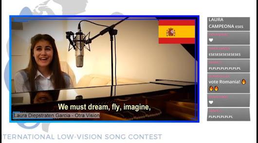 La almeriense Laura Diepstraten gana Eurovisión para ciegos