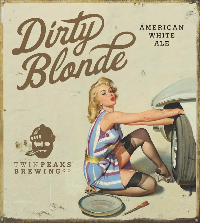 Logo of Twin Peaks Dirty Blonde