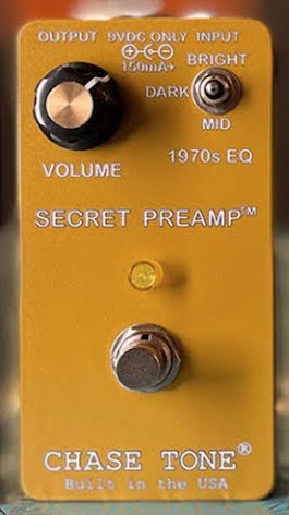 Chase Tone Secret Preamp - Gold