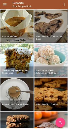 Screenshot 4 Food Recipes Book