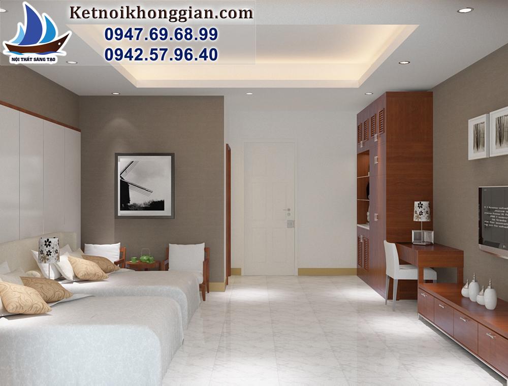 thiết kế phòng ngủ khách sạn chuyên nghiệp