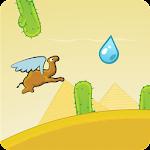 Flying Camel Icon
