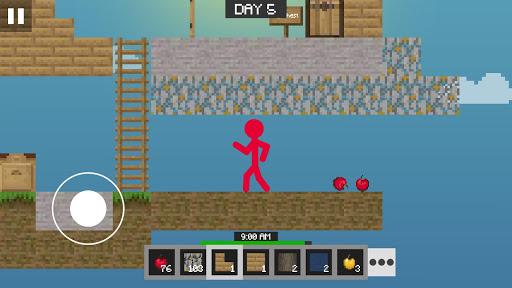 Stickman vs Multicraft: Skyblock Craft apkdebit screenshots 8