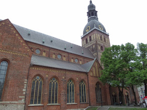 Photo: The Lutheran Riga Cathedral, built in the 14th century, is one of the biggest and oldest religious buildings in Latvia.