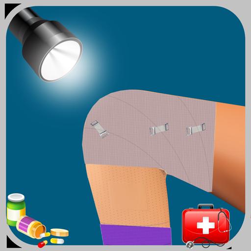 膝の手術医ゲーム 休閒 LOGO-玩APPs