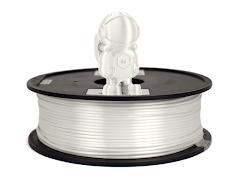 Silky White MH Build Series PLA Filament - 1.75mm (1kg)