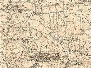 Photo: 3.vojenske mapovani 1869-1885. http://oldmaps.geolab.cz/map_root.pl?lang=cs&map_root=3vm