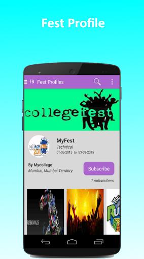FestBook screenshot 4