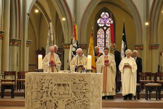 Photo: Ostdeutscher Gottesdienst in St. Aegidien mit Pater Benedikt Morawez OSB