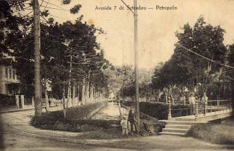 Photo: Avenida Sete de Setembro. Esta ponte ainda está no mesmo local