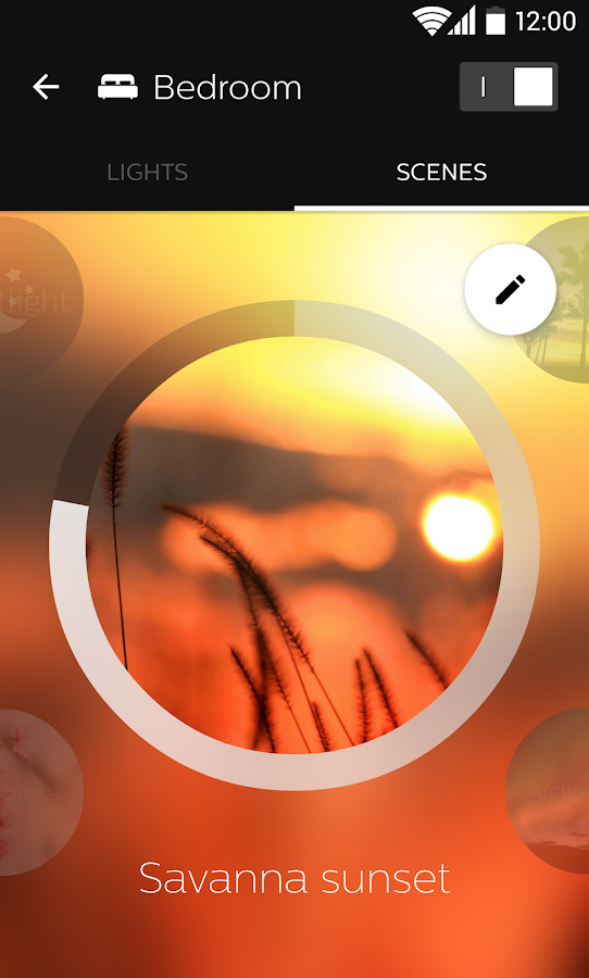 Philips Hue – Screenshot