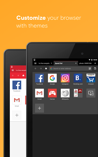 Opera Browser: Fast and Secure 47.3.2249.130976 screenshots 18