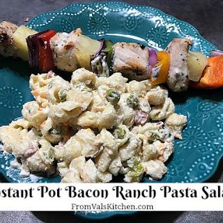 Instant Pot Bacon Ranch Pasta Salad Recipe