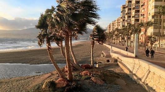 El tiempo en Almería: más viento y nubes para el martes