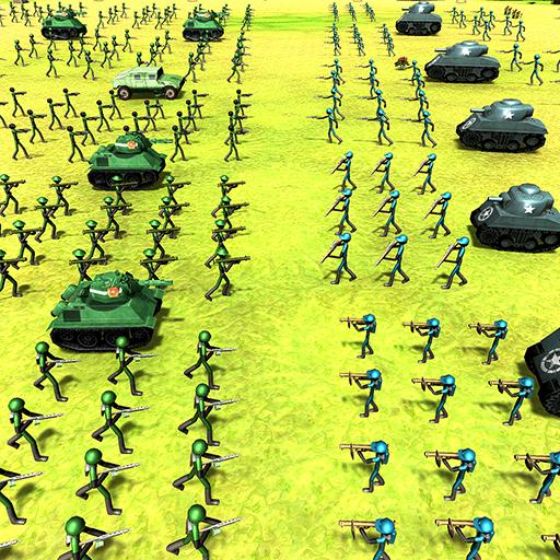 Battle Simulator World War 2 - Stickman Warriors