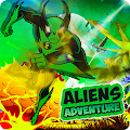 Aliens Adventure Arena-Alien War Battle Transform